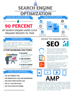 Capital Practice Consulting SEO Infographic