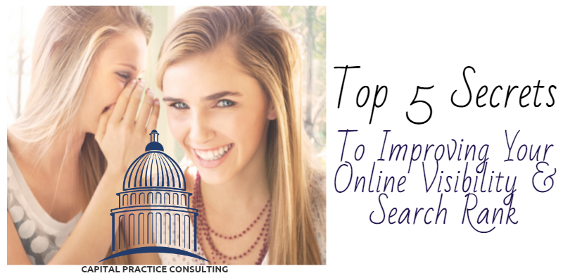 Secrets to Improve Online Search Rank and Visibility